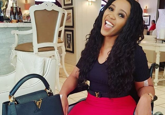 Sbahle Opens Up About Loving Her Scars
