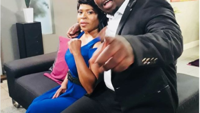 Photo of Uzalo's Baby Cele Sends Onscreen Husband A Sweet Birthday Shoutout!