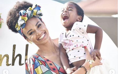 Pearl Thusi Celebrates Her Daughter's 5th Birthday With Heartfelt Message
