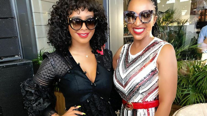 Watch! Boity Bring Her Mom To Tears After Surprising Her With A Brand New Mercedes Convertible