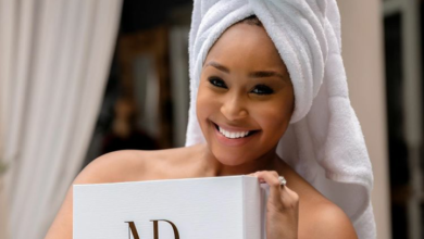 Photo of Pic! Minnie Dlamini Poses N*ked For Her New Skin Care Line