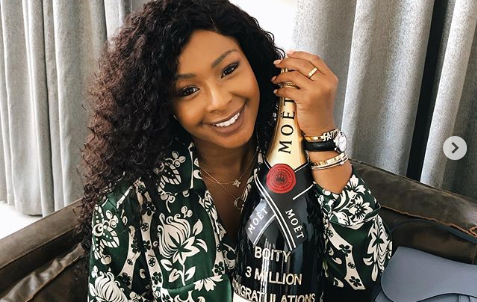 Boity Celebrates Major Milestone The Only Way She Know How