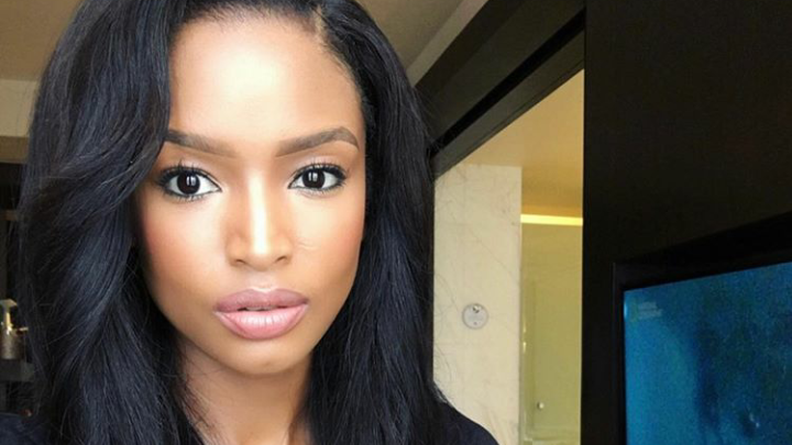 Pic! Ayanda Thabethe Sneakily Shows Off Her New Man