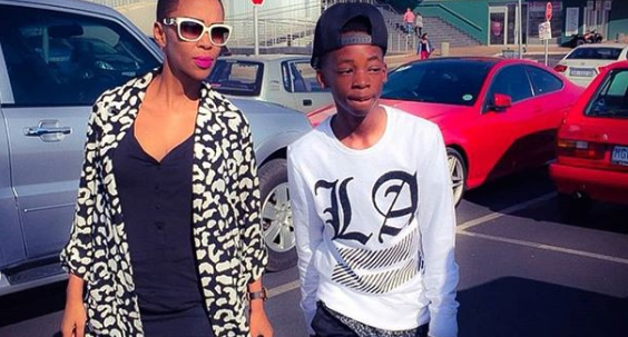 Nhlanhla Nciza Celebrates Her Son's 18th Birthday