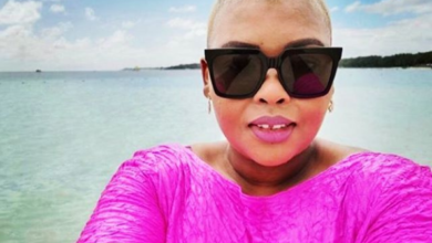 Pics! Anele Mdoda Shows Of Hot Bod On Vacation