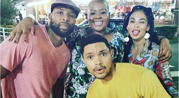 Watch! Anele Mdoda On Being Friends With Trevor And Sizwe Before They Had Good Cars