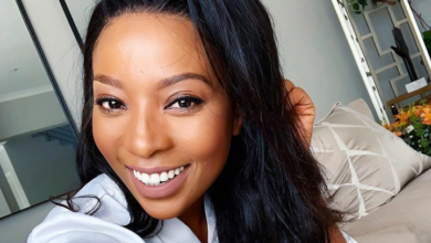 LOL! Pearl Modiadie Exposes Married Man In Her Comments To His Wife