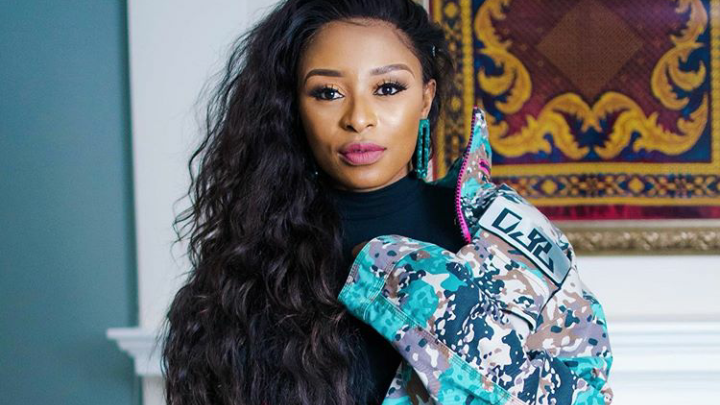 DJ Zinhle Warns Against Scammer Selling Hair In Her Name!