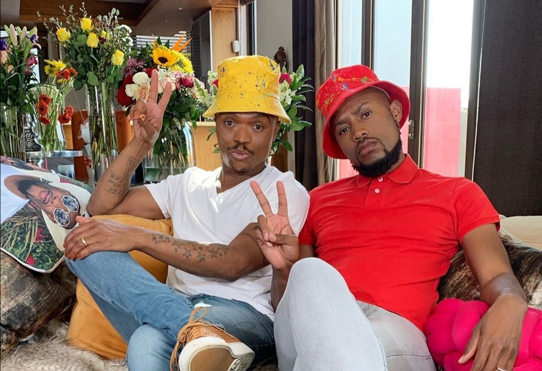 Photo of Somizi & Mohale's Expensive Request To The White Wedding Guests