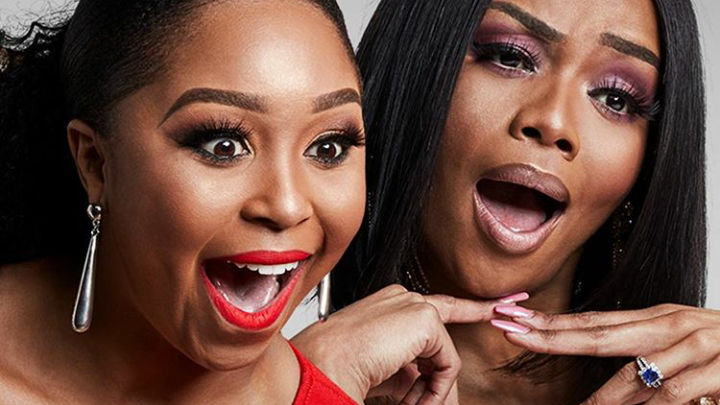 Bonang And Minnie Go Head To Head For An E! People's Choice Award