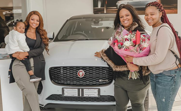SA Female Celebs Who Bought Cars For Their Mothers In 2019