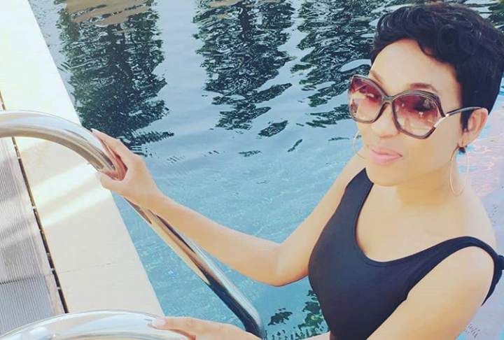 Pics! Kgomotso Christopher's Baecation In Spain