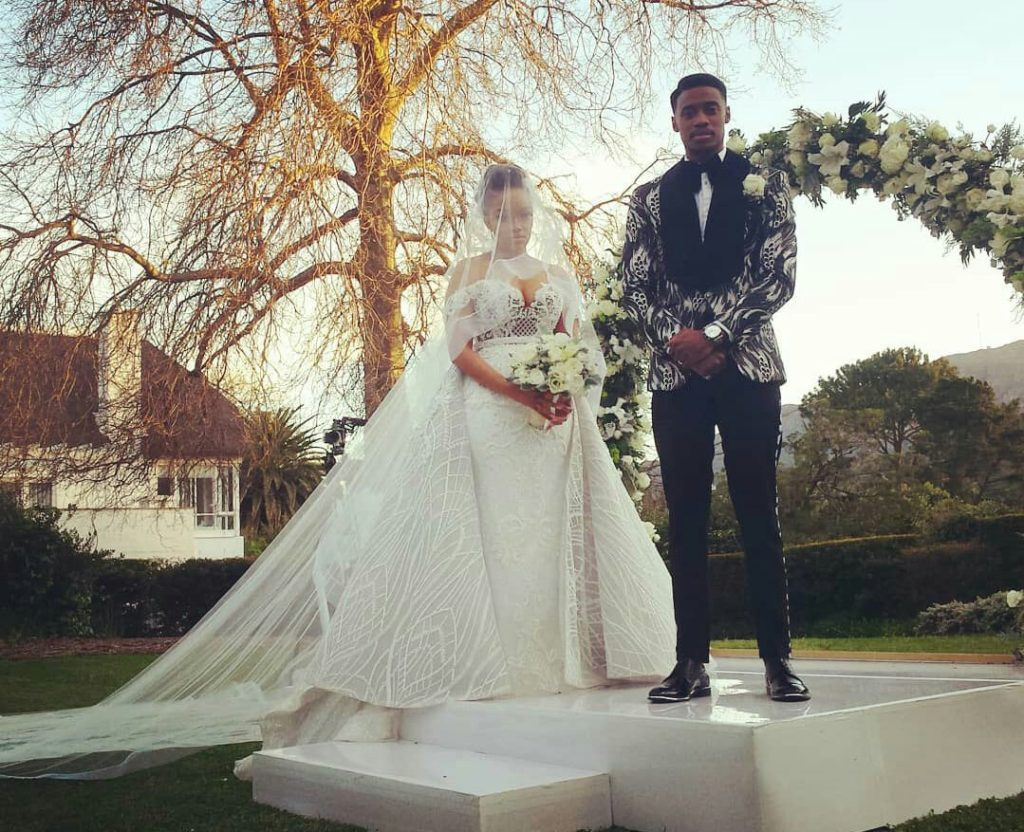 Pics Inside Dineo Moeketsi And Solo S Intimate White