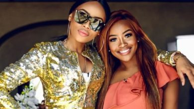 Photo of Bonang Matheba Sends Lorna Maseko Heartiest Congratulations On Her New Book