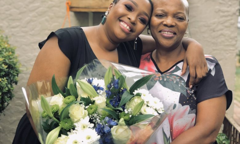 Relebogile Mabotja Sends Her Mom The Sweetest Birthday Shoutout