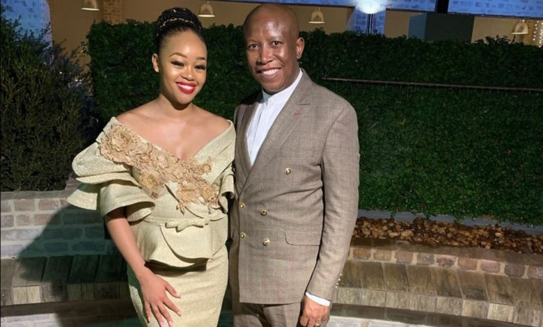 In Photos! 5 Times Julius And Mantoa Malema Stole The Spotlight As Wedding Guests