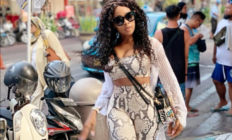 Pics! Thembi Seete Living Her Best Life In Bali