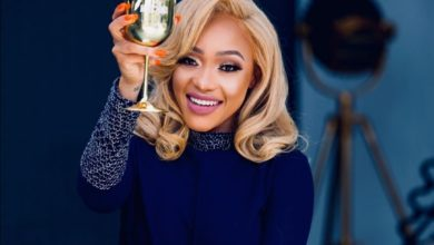 Photo of Thando Thabethe Claps Back At Bleaching Speculations