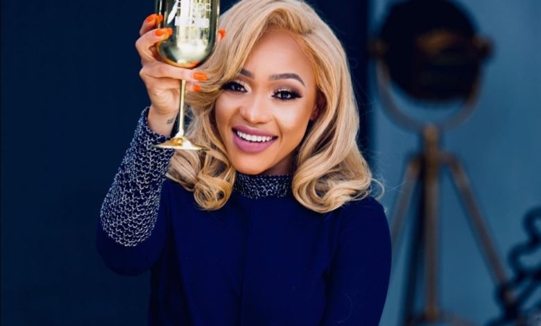 Thando Thabethe Claps Back At Bleaching Speculations