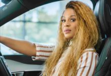 Photo of Jessica Nkosi's Shows Off Her Upgraded Million Rand Car