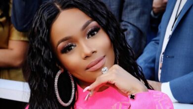 Photo of Watch! Bonang Explains What The Huge Diamond Ring She Wears Is For