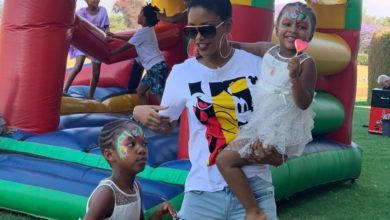 Photo of Watch! Rosette Mogomotsi's Daughter Calling Rapper AKA Her Daddy Will Make You Laugh