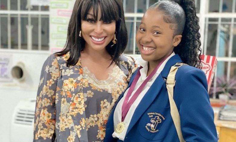 All Grown Up! Khanyi Mbau Gushes Over Her Daughter's Academic Achievements