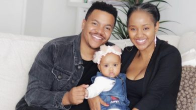 Photo of Pics! Brenden And Mpoomy Lwedaba Celebrate Their Daughter's 1st Birthday