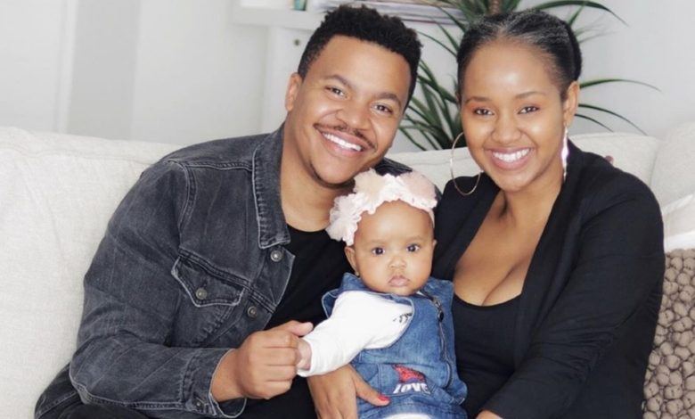 Pics! Brenden And Mpoomy Lwedaba Celebrate Their Daughter's 1st Birthday