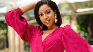 Photo of Boyfriend Goals! Blue Mbombo's Man Covers Her House With Roses