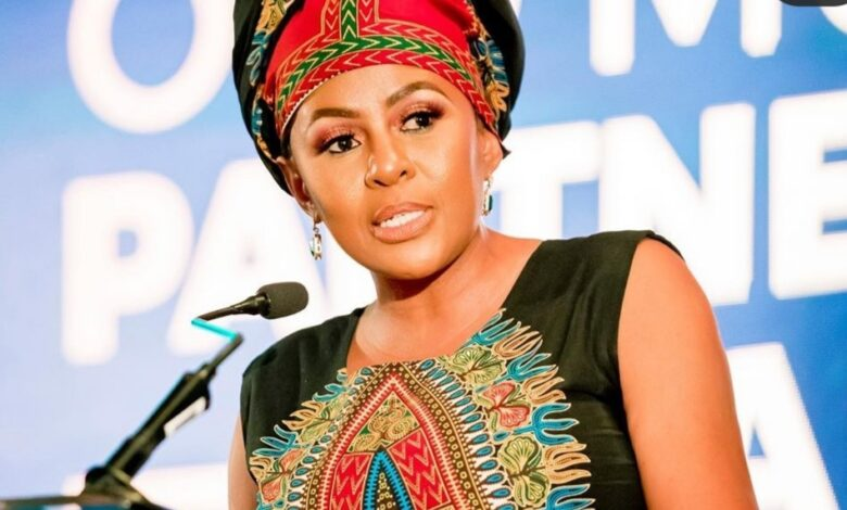 Basetsana Breaks Silence After Black Twitter Accused Her Of Being Mean To Zozi Tunzi