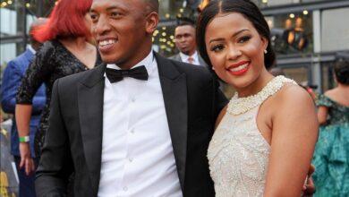Dumi Mkokstad Sends His Wife A Sweet Birthday Shoutout!