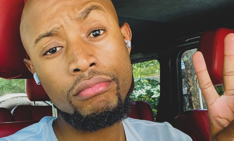 Mohale Claps Back After Tweep Tells Him To Stop Using Somizi's Car