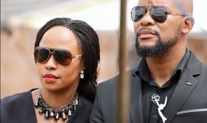 Hlomla Dandala Sends His TV Wife Sindi Dlathu A Sweet Birthday Shoutout!