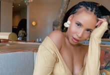 Photo of Thuli Phongolo Flaunts Curves In Sexy Lingerie!