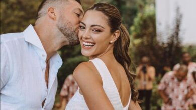 Photo of Pics! Former Miss SA/Universe Demi-Leigh Nel-Peters Marries American Fiance In Cape Town!