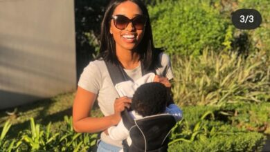 Photo of Ntando Kunene Reveals Her Son's Face For The First Time On Social Media