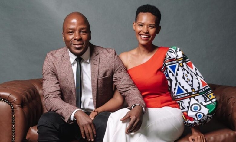 Gail & Kabelo Mabalane Celebrate 7 Years Of Marriage!