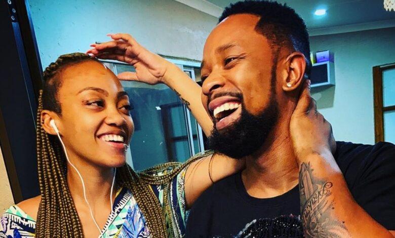 SK Khoza Takes Time To Appreciate His Girlfriend