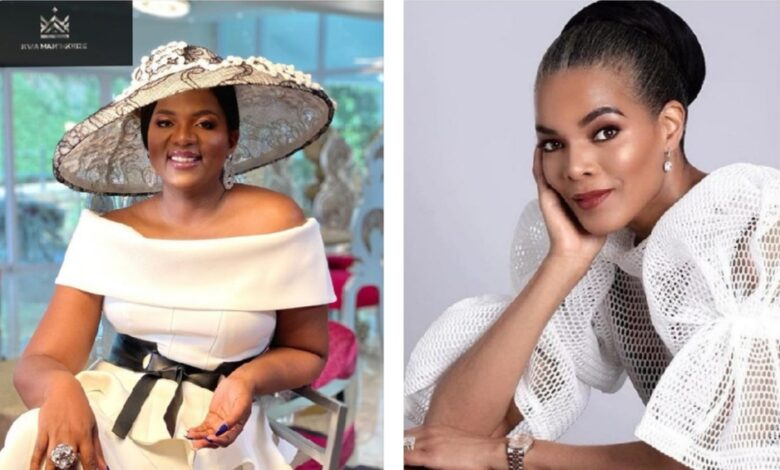 Black Twitter Debates On Who's Richer Between Connie Ferguson or Shawn Mkhize!