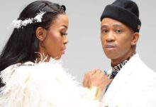Photo of Watch! Mafikizolo's Nhlanhla Hilariously Dodges Kisses From Theo