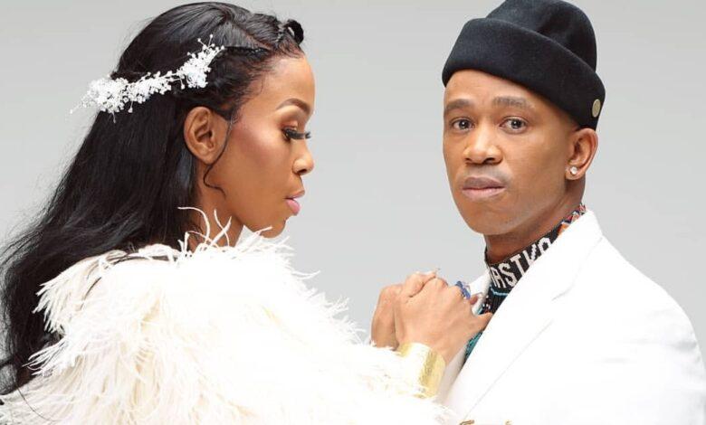 Watch! Mafikizolo's Nhlanhla Hilariously Dodges Kisses From Theo