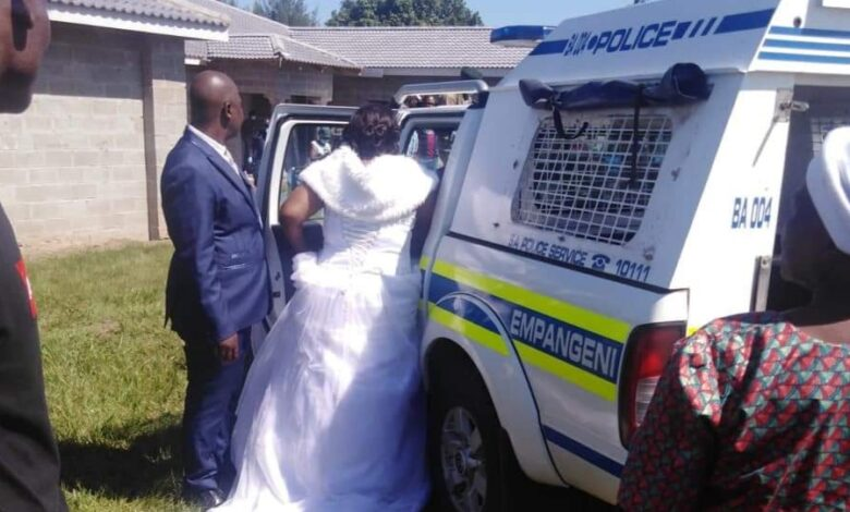 Watch! Couple Gets Arrested At Their Wedding For Violating Lockdown Rules