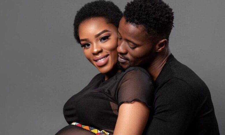 Pic! Abdul Khoza Finally Reveals His New Daughter To The World