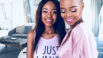 Photo of Ntando Duma Gives Sister Thando Duma A Birthday Shout Out