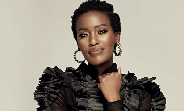 Scandal's Masasa Mbangeni Praises Co-Star Bongile Mantsai For How He Handles Intimate Scenes