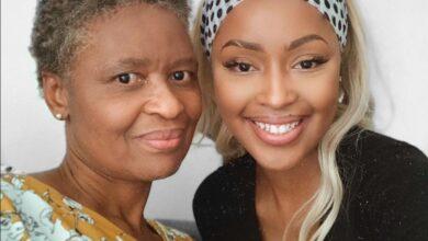 Photo of Kamo Modisakeng Shares Heartfelt Birthday Message To Her Mom