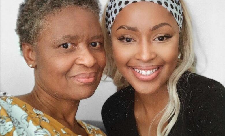 Kamo Modisakeng Shares Heartfelt Birthday Message To Her Mom