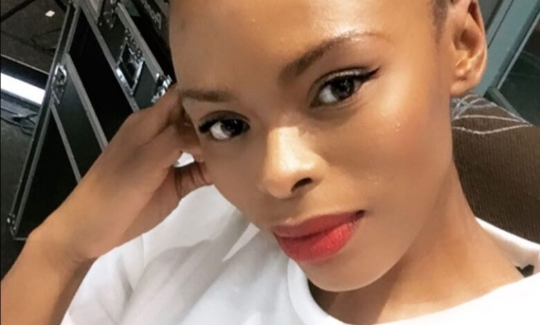 Unathi's 8 Year Old Daughter Did Her Makeup And The Result Is Hilarious!