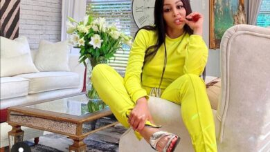 Photo of Pics! Khanyi Mbau Gives Away All Her Shoes And It's A Lot Of Pairs